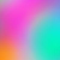 Vibrant rainbow vector mesh gradient background