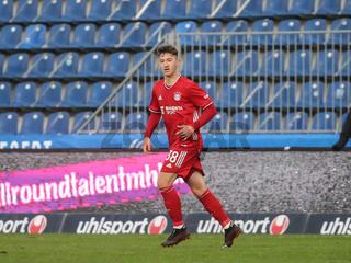 deutscher Fussballer Angelo Stiller  FC Bayern München II DFB 3.Liga Saison 2020-21