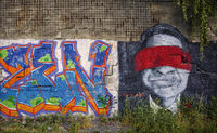 ROCKWERK Hof - Graffiti on the old wall