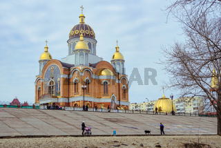 Cathedral of Intercession of the Mother of God, in Kiev