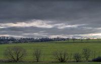 December - Landscape in the Vogtland