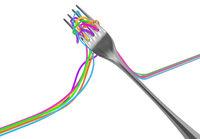 Fork Color Strings Take