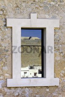 Fenster mit Spiegelung
