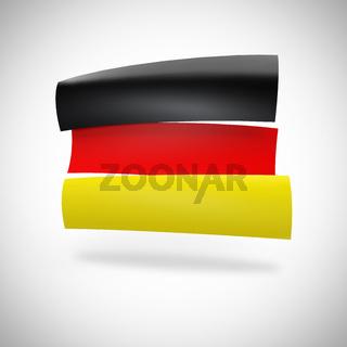 Deutschland Fahne - Werbeschilder