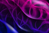 Colorful abstract wavy background with soft light.