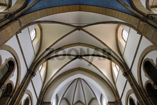 Deckengewölbe, Marienkirche in Landau