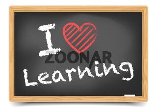 Blackboard love learning