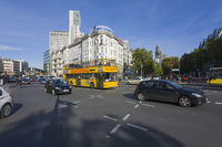 Kurfuerstendamm, sightseeing bus, Berlin