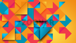 Abstract bright mosaic background
