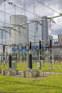 Kraftwerk Staudinger in Großkrotzenburg, Deutschland