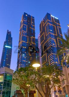 Skyscrapers of Dubai Marina