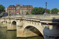 Paris , Pont Neuf Bridge