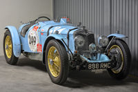 retired classic race car
