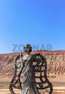 Bronze statue of Journey to the West character Iron Fan Princess