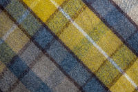 Background Texture Of A Tartan Plaid Blanket