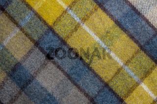 Background Texture Of A Tartan Plaid Blanket