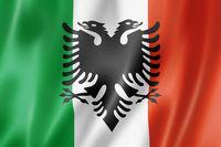 Italian Arberesh ethnic flag, Italia
