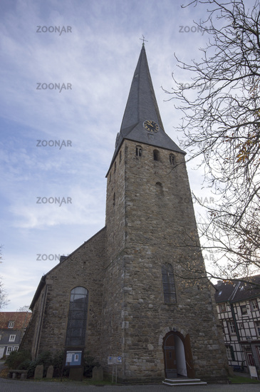 Church Sankt Georg in Hattingen, Germany