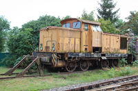 Details of a shunting locomotive or a company locomotive for shunting wagons