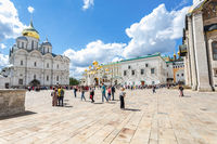 Orthodox Cathedrals of the Moscow Kremlin on Cathedral square