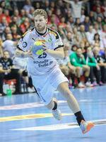 Gregor Remke, SC DHfK Leipzig,  Liqui Moly HBL, Handball-Bundesliga Saison 2019-20