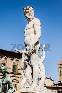 Neptune sculpture