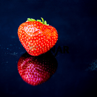 leckere Erdbeere