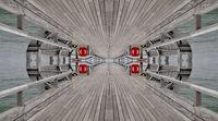 Pier mirrored