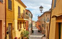 Santarcangelo di Romagna  Italian cityscape