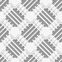 White squares and lines layered on gray