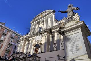 Naples Campania Italy. San Paolo Maggiore