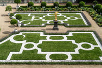 Baroque garden in Weilburg Castle
