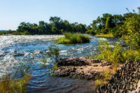 Raging Zambezi River