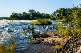 Raging Zambezi River