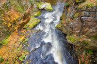 Flusslandschaft die Bode im Harz