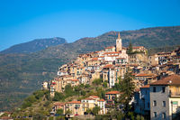 Apricale - Italian old village in Liguria region