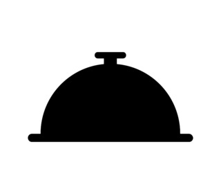 tray icon illustrated in vector on white background