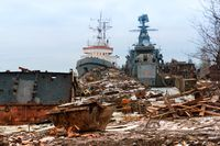 decommissioned military vessels, ship graveyard