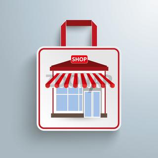 Paper Shopping Bag Shop PiAd