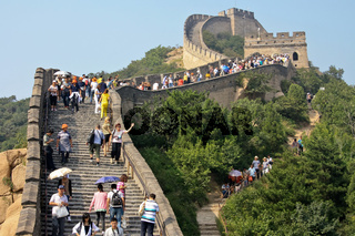 Grandiose protective structure of past centuries - 'The Great Wall'