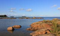 Landscape in Vita Sannar, Sweden.