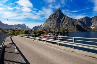 Lofoten archipelago panorama
