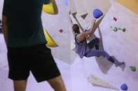 Climbing bouldering, bouldering hall,
