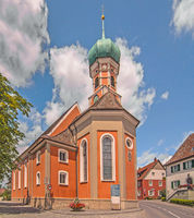 Church St. Nicholas, Allensbach on Lake Constance