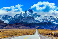 The grandiose Mount Fitz Roy