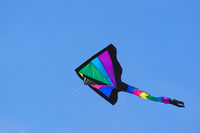 Colorful kite in the air