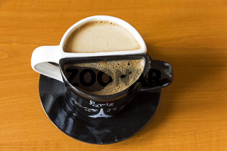 Unusual coffee cups.