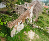 Medieval settlement, destroyed by earthquake 1979, Sutomore, Montenegro