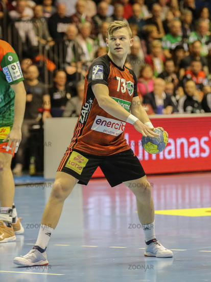 German handball player Timo Kastening, TSV Hannover-Burgdorf Liqui Moly HBL, season 2019-20