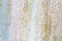 Verwitterte Farbe auf Metalloberfläche als Textur